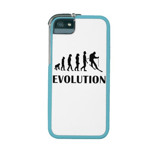Skiing Evolution iPhone 5/5S Cases