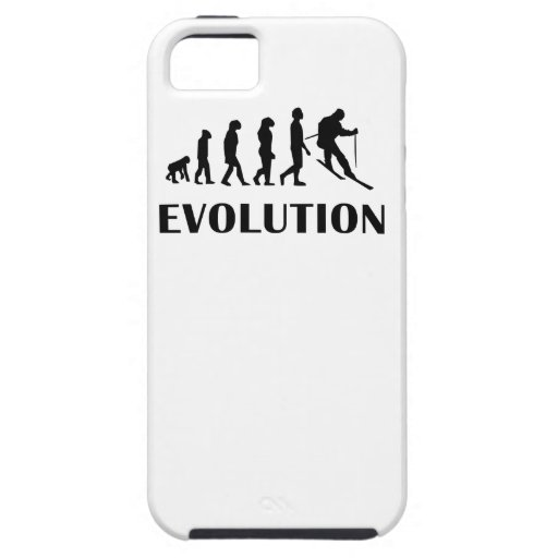 Skiing Evolution iPhone 5 Cover