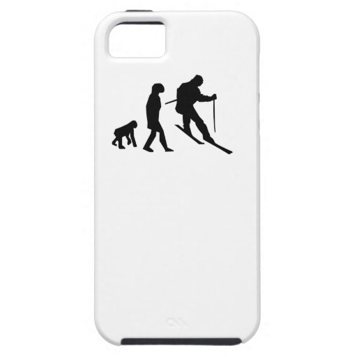 Skiing Evolution iPhone 5 Covers