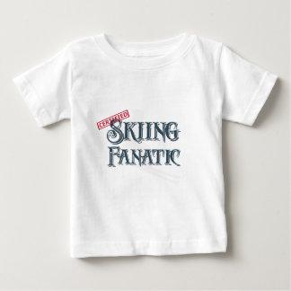 Skiing Fanatic Baby T-Shirt