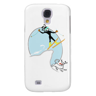Skiing Galaxy S4 Covers