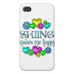 Skiing Happiness Cover For iPhone 4