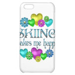 Skiing Happiness Cover For iPhone 5C