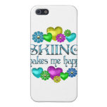Skiing Happiness iPhone 5 Case