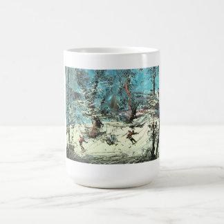 Skiing in North Coffee Mug