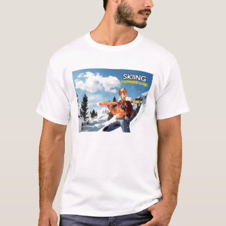 Skiing Insomniac T-Shirt