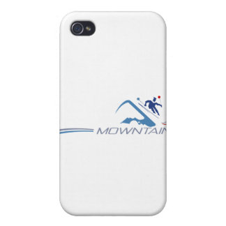 Skiing iPhone 4 Covers