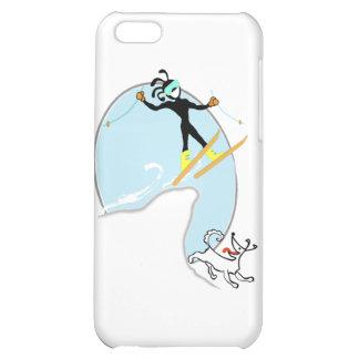 Skiing iPhone 5C Case