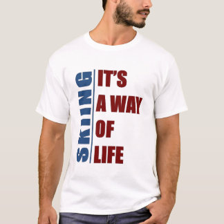 Skiing it's the way of life T-Shirt