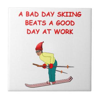 skiing joke tiles