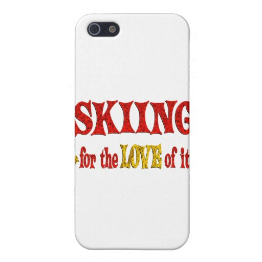 Skiing Love Cases For iPhone 5