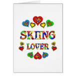 Skiing Lover Card