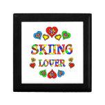 Skiing Lover Jewelry Box