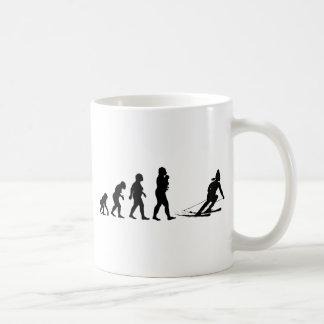 Skiing Classic White Coffee Mug