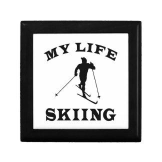 Skiing My Life Gift Box