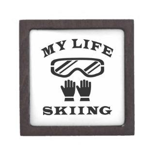 Skiing My Life Premium Gift Boxes