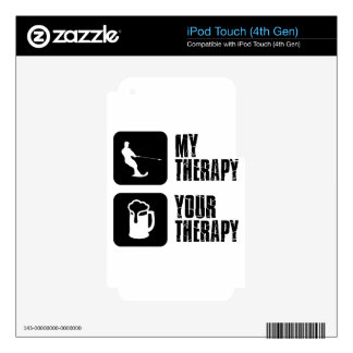 skiing my therapy designs iPod touch 4G skin