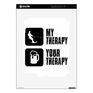 skiing my therapy designs iPad 2 skins