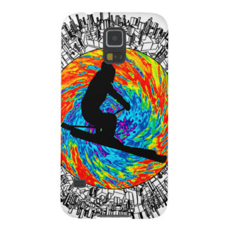 SKIING NEW SIGHTS CASES FOR GALAXY S5