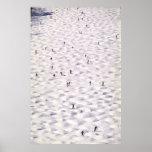 Skiing On The Steep - Print