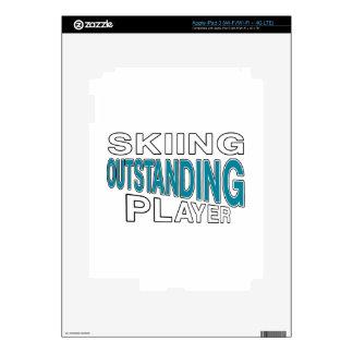 SKIING OUTSTANDING PLAYER iPad 3 SKINS