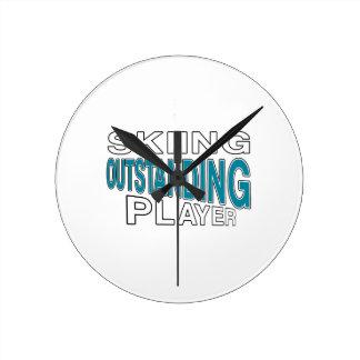 SKIING OUTSTANDING PLAYER ROUND CLOCK