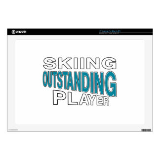 """SKIING OUTSTANDING PLAYER SKINS FOR 17"""" LAPTOPS"""