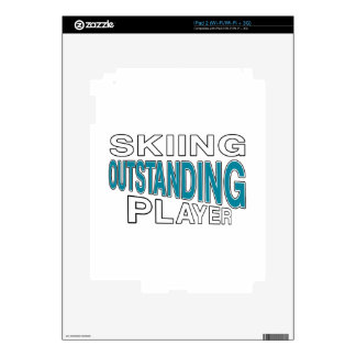 SKIING OUTSTANDING PLAYER SKINS FOR iPad 2