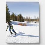skiing photo plaques