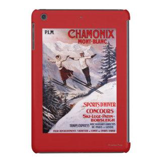 Skiing Promotional Poster iPad Mini Case