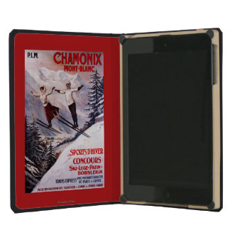 Skiing Promotional Poster iPad Mini Covers