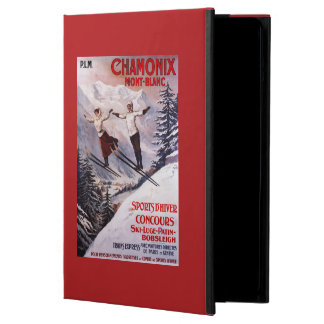 Skiing Promotional Poster Case For iPad Air