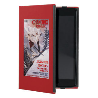 Skiing Promotional Poster iPad Mini Cover