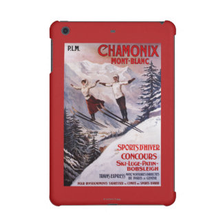 Skiing Promotional Poster iPad Mini Cases