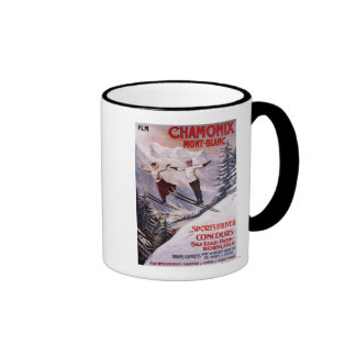 Skiing Promotional Poster Mug