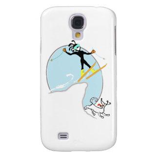 Skiing Samsung Galaxy S4 Cover