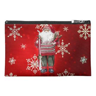 Skiing Santa Travel Accessories Bags