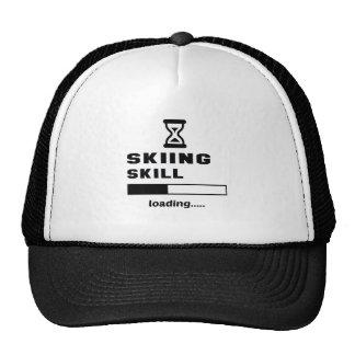 Skiing skill Loading...... Trucker Hat