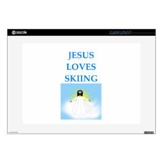 """SKIING SKIN FOR 15"""" LAPTOP"""