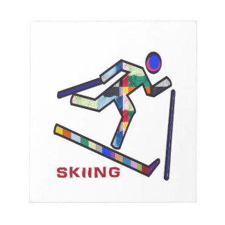 SKIING SPORTS Competition Notepad