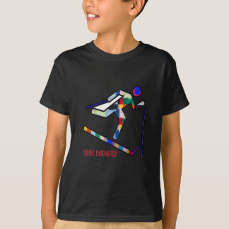 SKIING SPORTS Competition T-Shirt