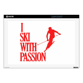 SKIING sports designs Laptop Decals