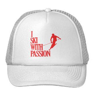 SKIING sports designs Trucker Hat