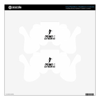 Skiing Superpower Designs PS3 Controller Decals