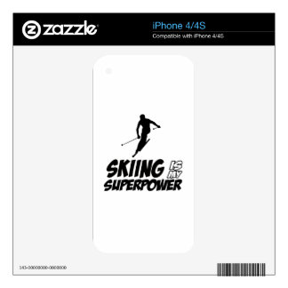 Skiing Superpower Designs Skins For The iPhone 4