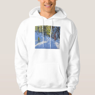 Skiing through the Woods La Clusaz 2012 Hoodie
