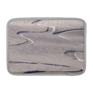 Skiing Tracks Sleeve For MacBook Air