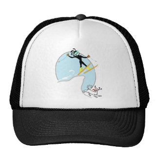 Skiing Trucker Hat