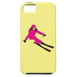 skiing woman iPhone SE/5/5s case
