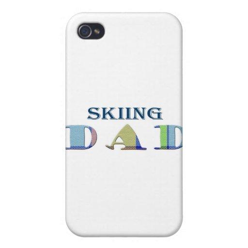 SkiingDad iPhone 4 Cárcasas